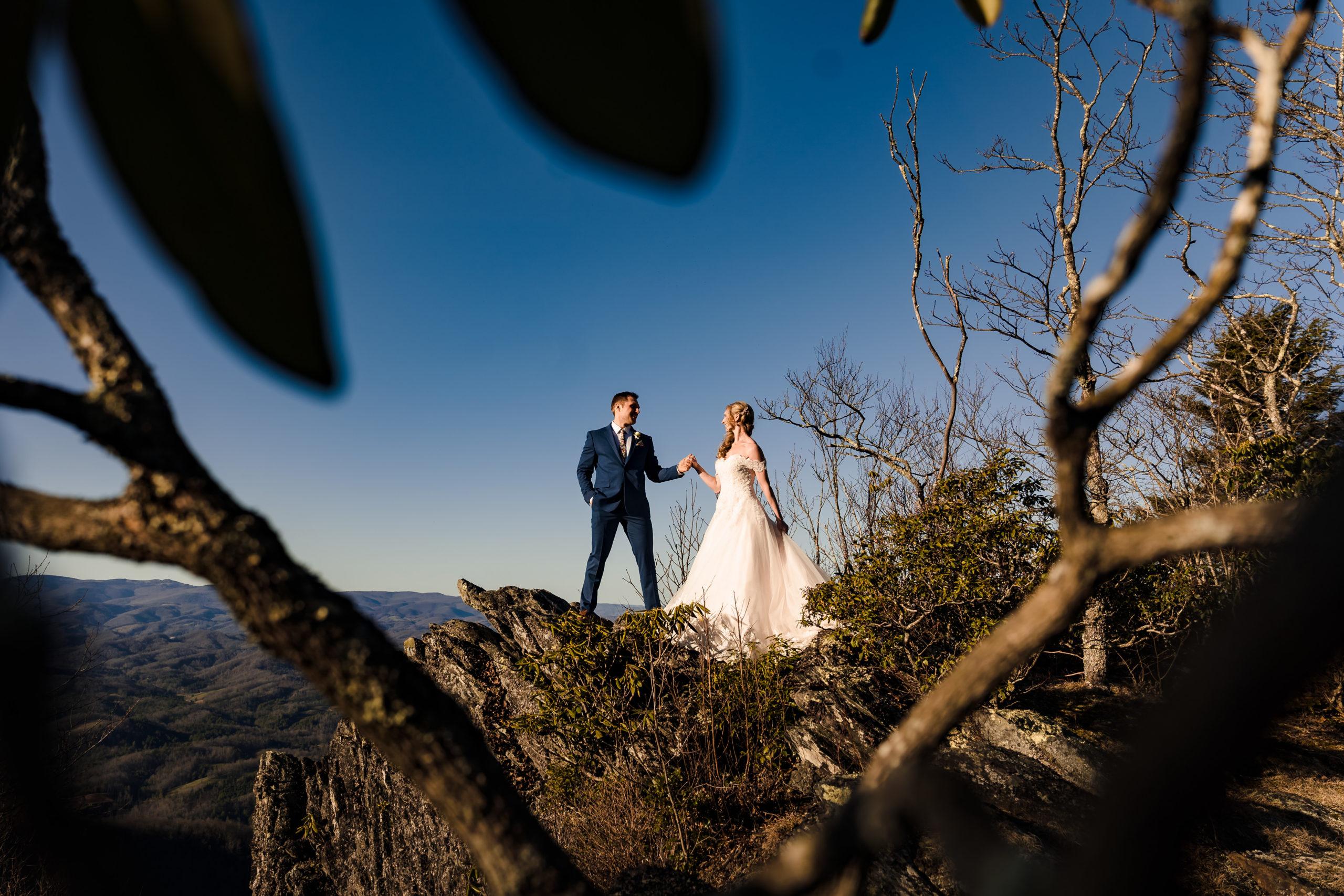 Fairy Tale Wedding in North Carolina Mountains