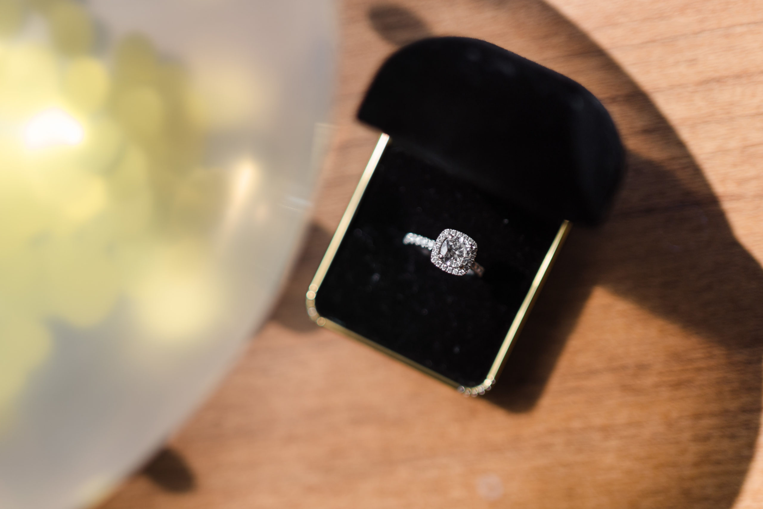 Wedding Ring in Uptown Charlotte