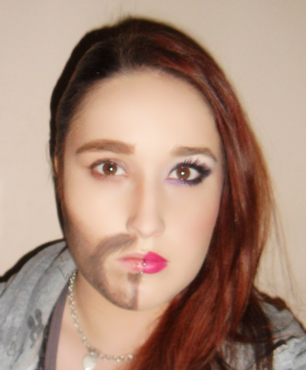 Pretty Halloween Makeup Half Face