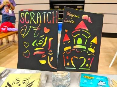 Scratch Art Activity