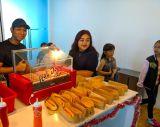 Hotdog Bun Station Catering