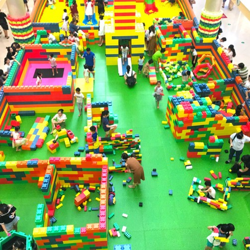 Mega Playground for Shopping Mall