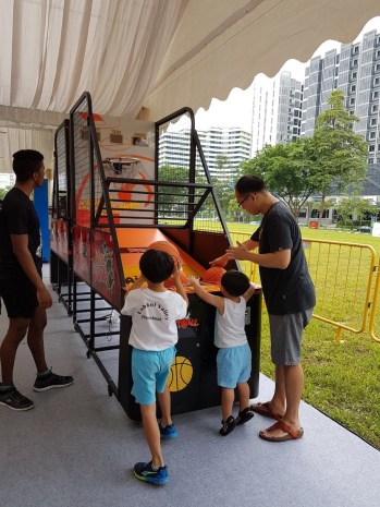 Singapore Arcade Basketball Machine Rental