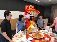 Cai Shen Mascot Costume Rental