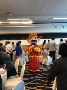 Rent Cai Shen Ye Mascot Costume