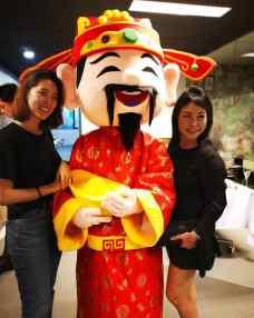 Roving Cai Shen Ye Mascot