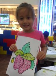 Colouring Activity for Kids Singapore
