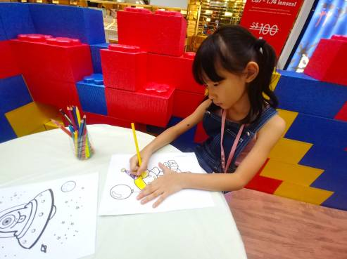 Kids Colouring Station