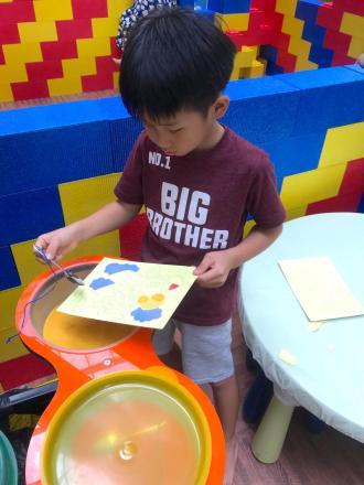 Kids Sand Art Station