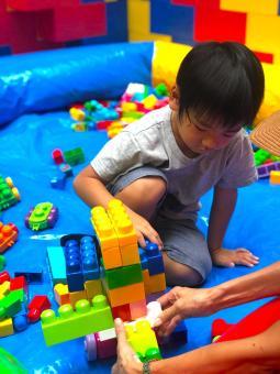 Mega Lego Building Activity