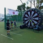 Soccer Dart Inflatable Game Rental Singapore