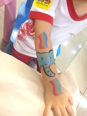 Kids Hand Painting Singapore