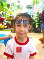 Unicorn Face Painting Singapore