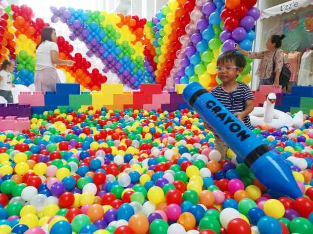 Giant Ball Pit Singapore
