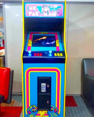 Pacman Video Arcade Machine