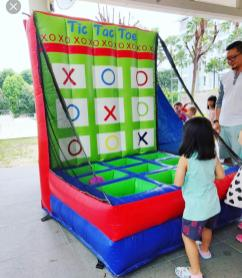 Inflatable Tic Tac Toe Game Rental
