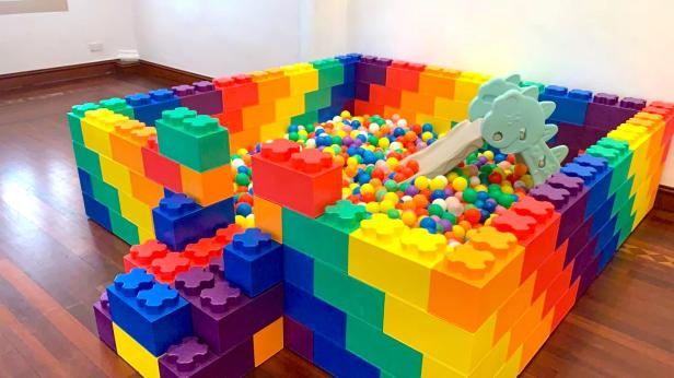 Lego Ball Pit Rental for Birthday Party