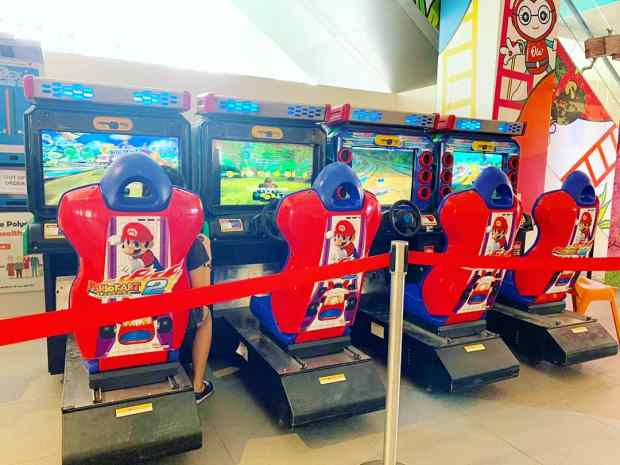 Mario Cart Arcade Machine Rental