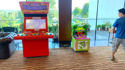 Cheap Arcade Game Machines Rental Singapore