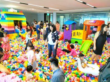 Gaint Ball Pit Playground Rental