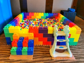 Rainbow Ball Pit (w/ Slide)