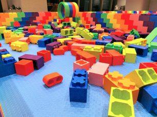 Giant Lego building Playground