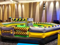 Wipe Out Inflatable Game Singapore
