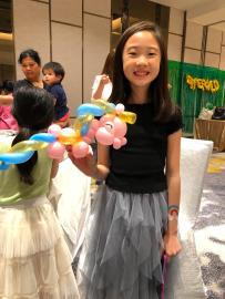 unicorn balloon sculpture singapore