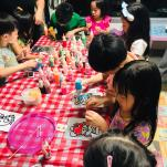 Window Paint Art for Kids Party Singapore