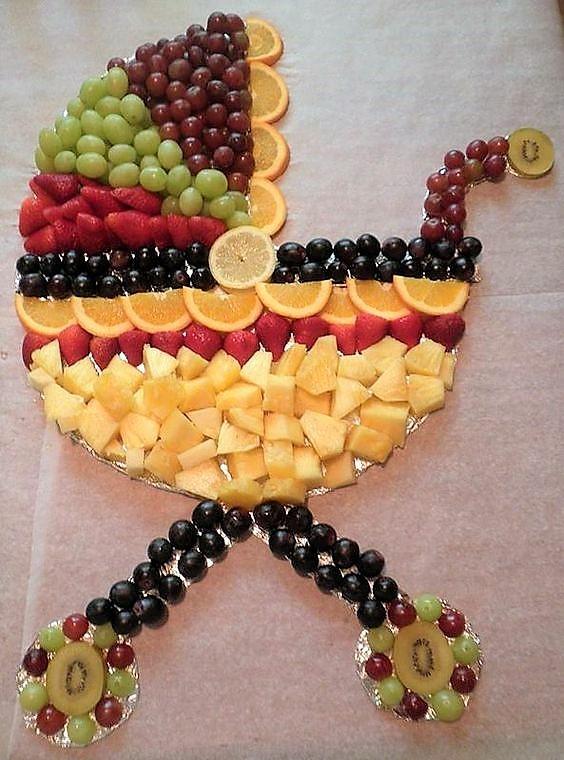 Baby Shower Fruit Tray Ideas : shower, fruit, ideas, Fruit, Vegetable, Veggie, Ideas, Parties, Vegan, Recipes