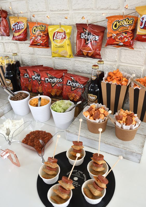 best graduation party food