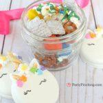 Rainbow Puppy Chow Best Chocolate Peanut Butter Puppy Chow Recipe