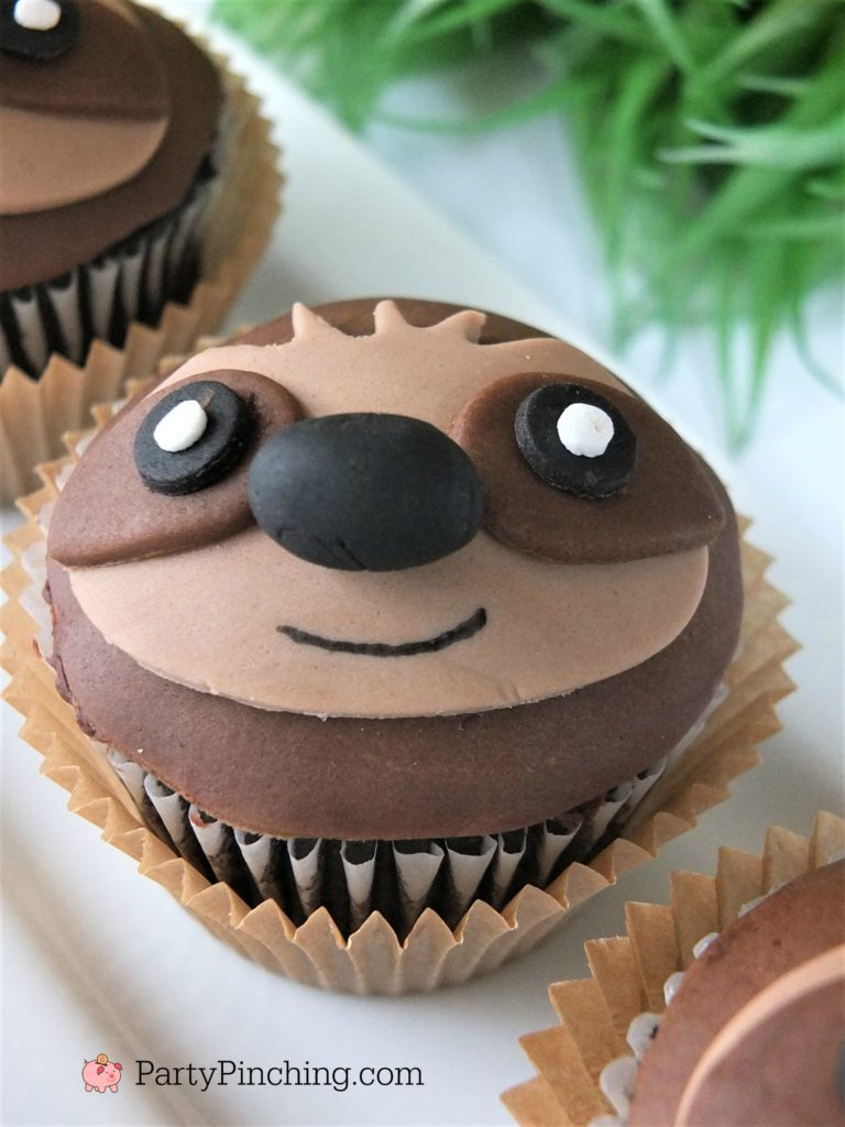 Sloth Cupcakes Best Sloth Cupcake Recipe Cute Sloth Cake