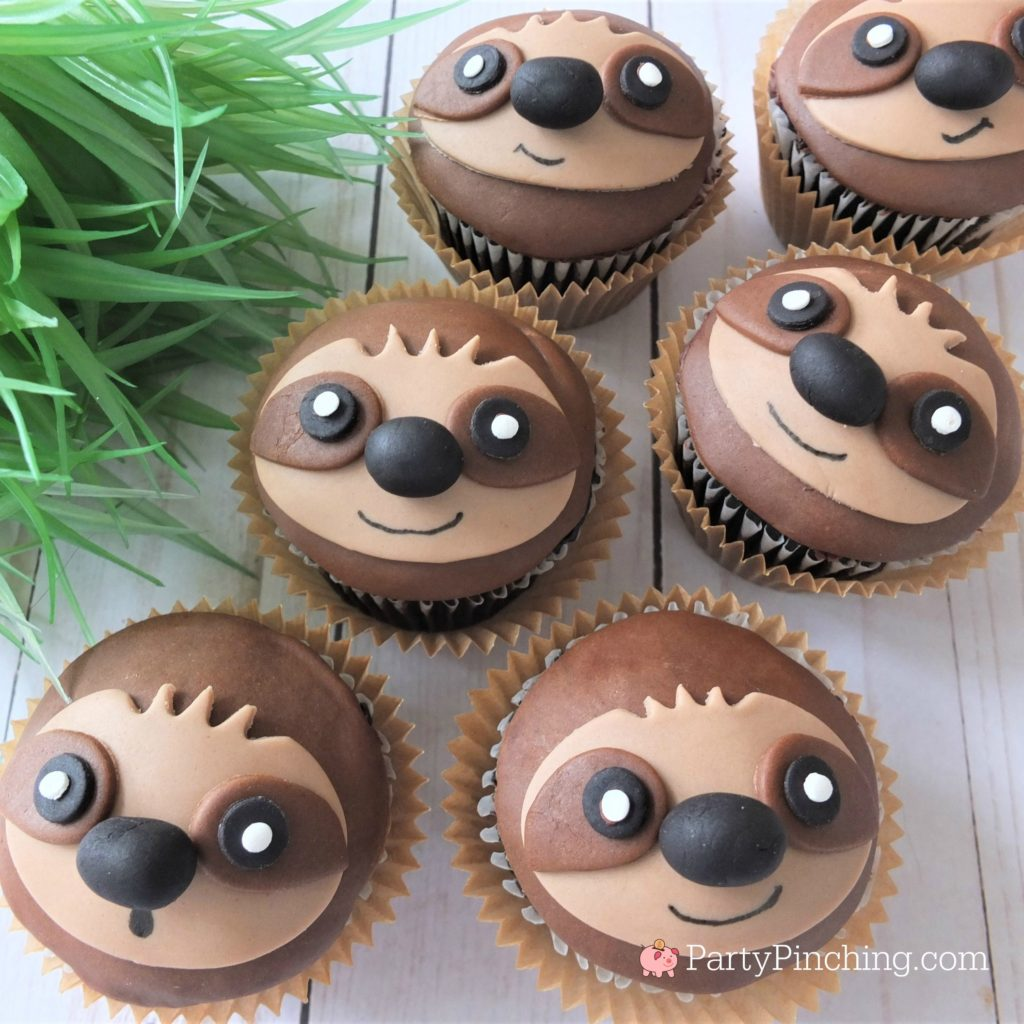 Sloth Cupcakes Best Sloth Cupcake Recipe Cute Sloth Cake