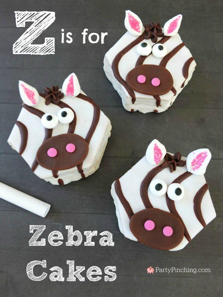 Little Debbie Recipes Ideas : little, debbie, recipes, ideas, Zebra, Cakes,, Little, Debbie, Partypinching.com,, Snack, Cakes