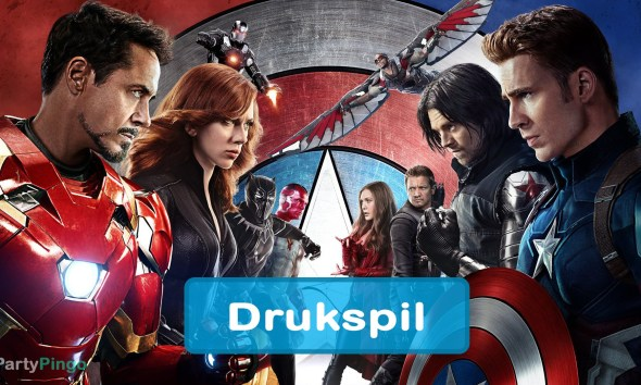 Captain America Civil War Drukspil