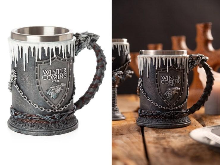 Game of Throns Ølkrus - House of Stark