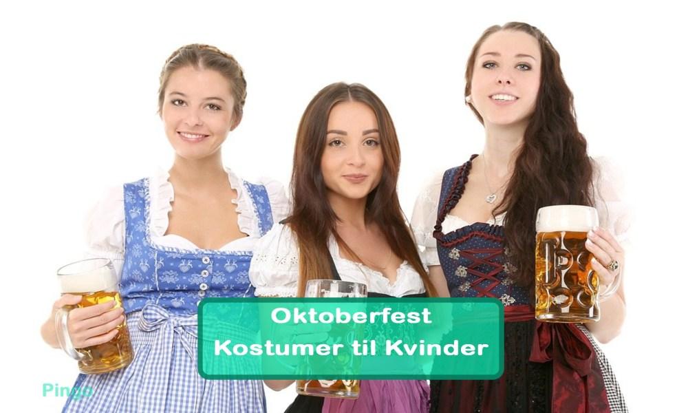 Oktoberfest Kostumer til kvinder