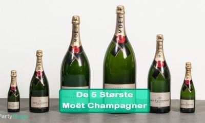 De 5 Største Moët Champagne Flasker