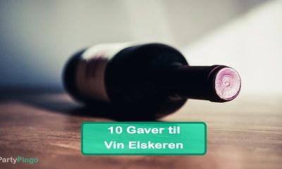 10 Gaver til Vin Elskeren
