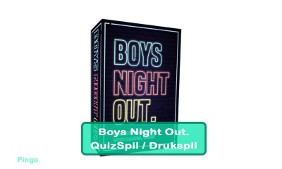 Boys Night Out Quiz - Drukspil
