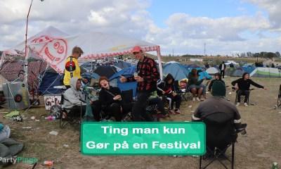 Ting man kun gør på en Festival