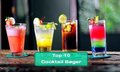 Top 10 Cocktail Bøger til at forbedre dine Drinks