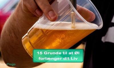 15 Grunde til at Øl forlænger dit Liv