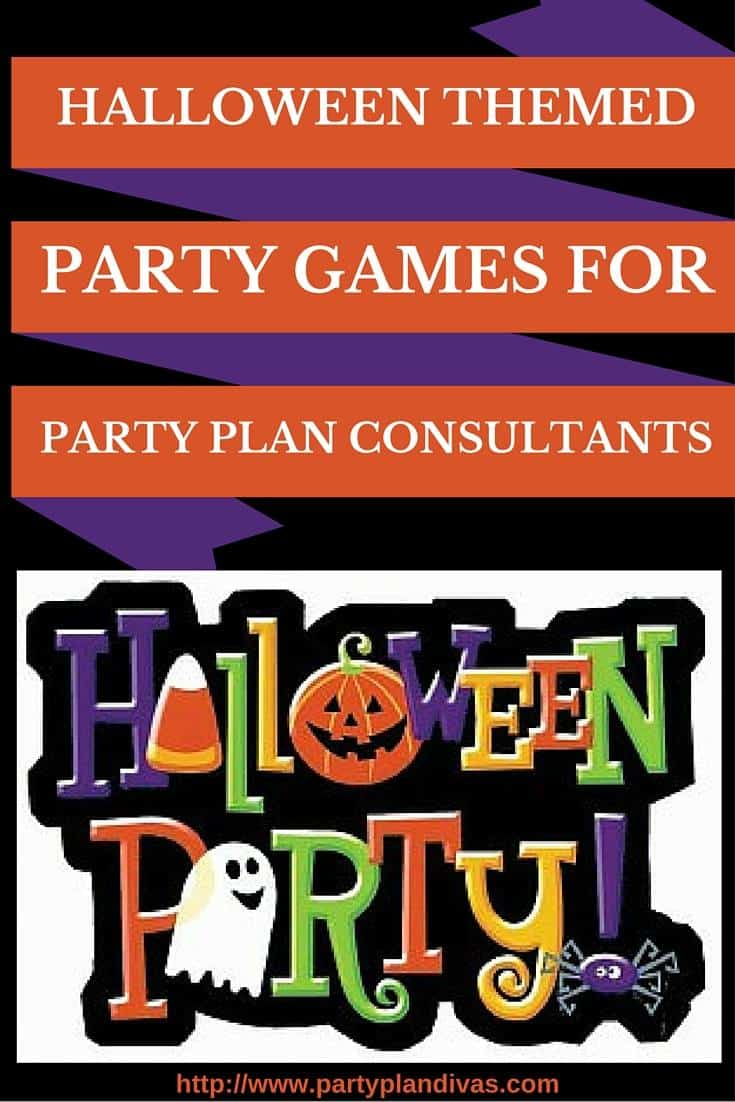 halloween themed party games