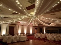 Roof Draping & Wedding Ceiling Decor