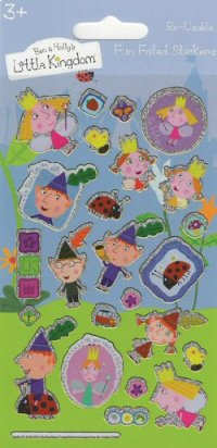 Ben and Holly stickers