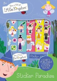 Ben and Holly sticker Paradise set,6 sticker sheets and an ...
