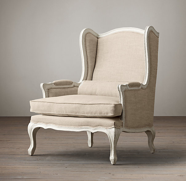 Versailles Wing Back Chair The Prop Shop