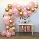 Birthday Party Decorations Balloon Garland 60pcs Pink And Gold Balloons Arch Kit With Chrome Balloon For Pink Balloons Garland Girls Birthday Baby Shower Wedding Bridal Shower Bachelor Hen Party Party